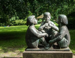 Figurengruppe Schlosspark Schönhausen